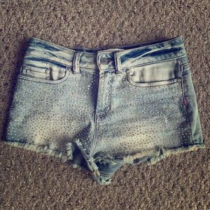 Victoria's Secret Pink High Rise Jean Shorts